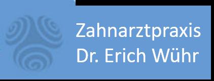 Logo Zahnarztpraxis Dr. Erich Wühr